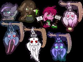 Extra Chibi Halloween Ychs - Batch 1 by Ak4neh