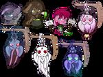 Extra Chibi Halloween Ychs - Batch 1