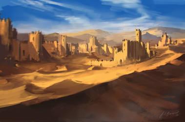 Commission: Sanctum City by BTech