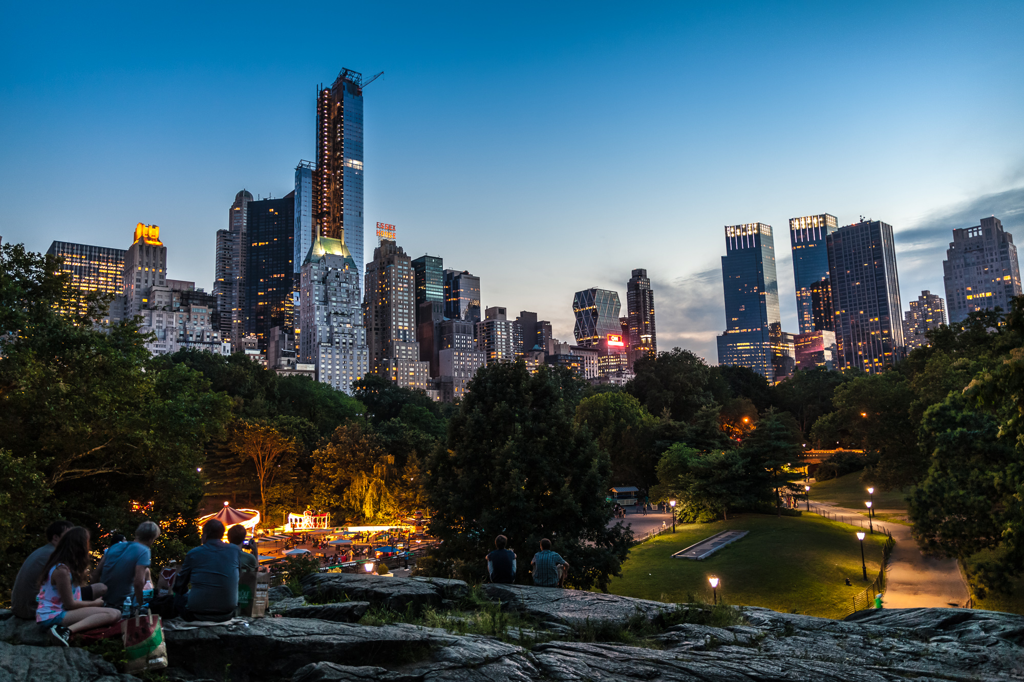 Sunset at central park by wtek79 on deviantart for Things to do in central park today