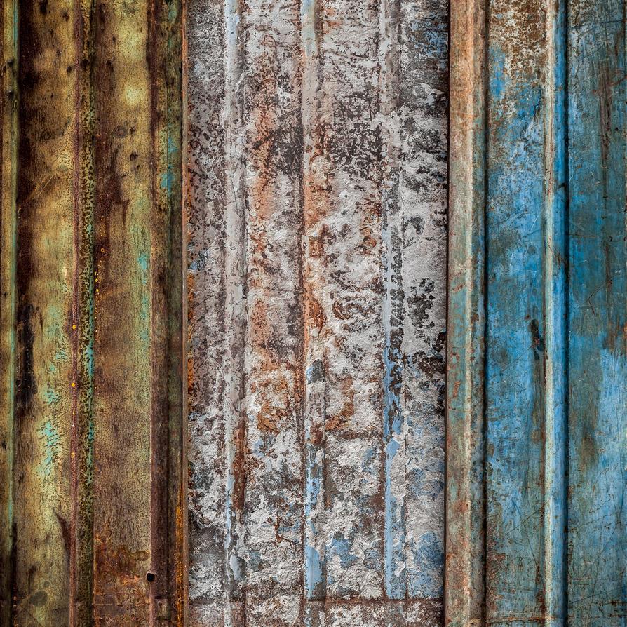 Rusty Triptych by WTek79