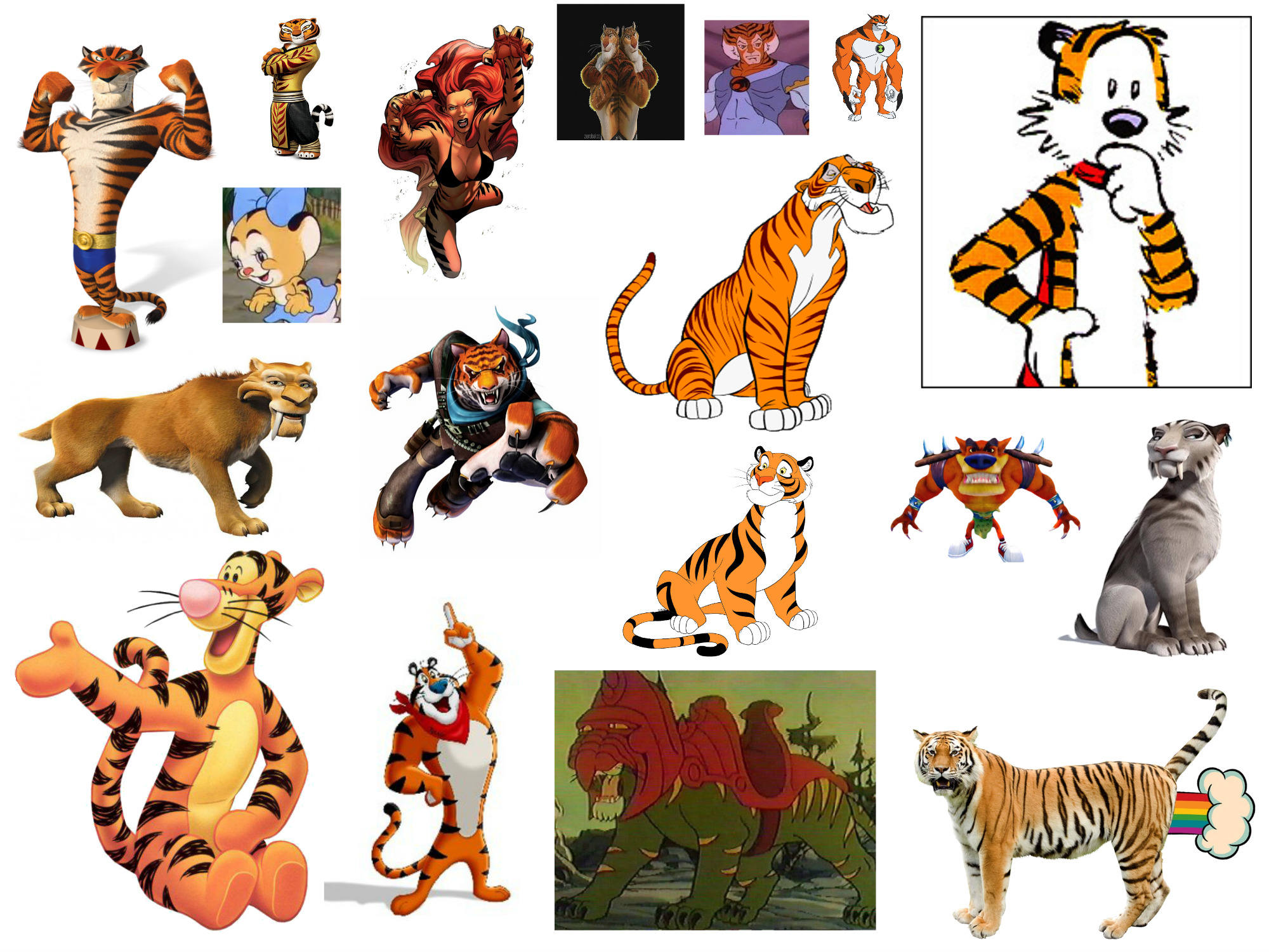 Animated Cartoon Tigers By Bart Toons On Deviantart