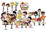 The Loud House - Lincoln, his Sisters and Friends