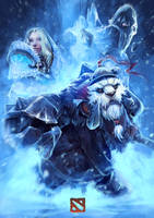 DOTA 2 snow theme. by Syn-Scholar