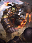 Thrall fire