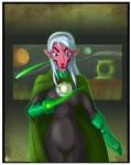 Green Lantern princess Iolande