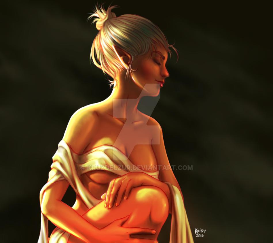 Lady elf by KruzdelZur