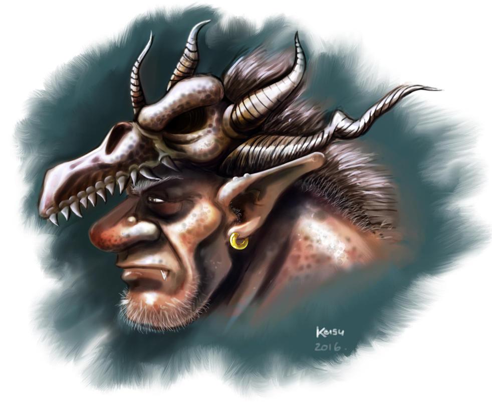 kong troll by KruzdelZur