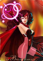 Scarlet Witch Pepsicards