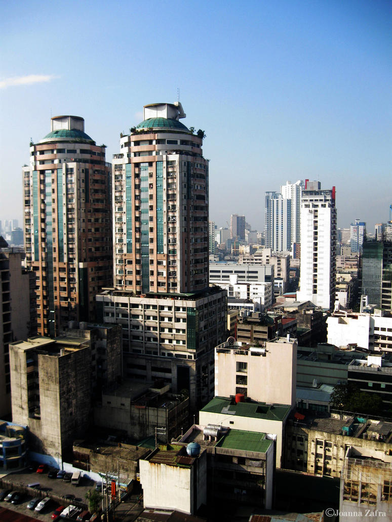 The Manila Cityscape by thundertrouble