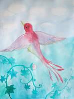 The Bird in my Head by Lucyndaria