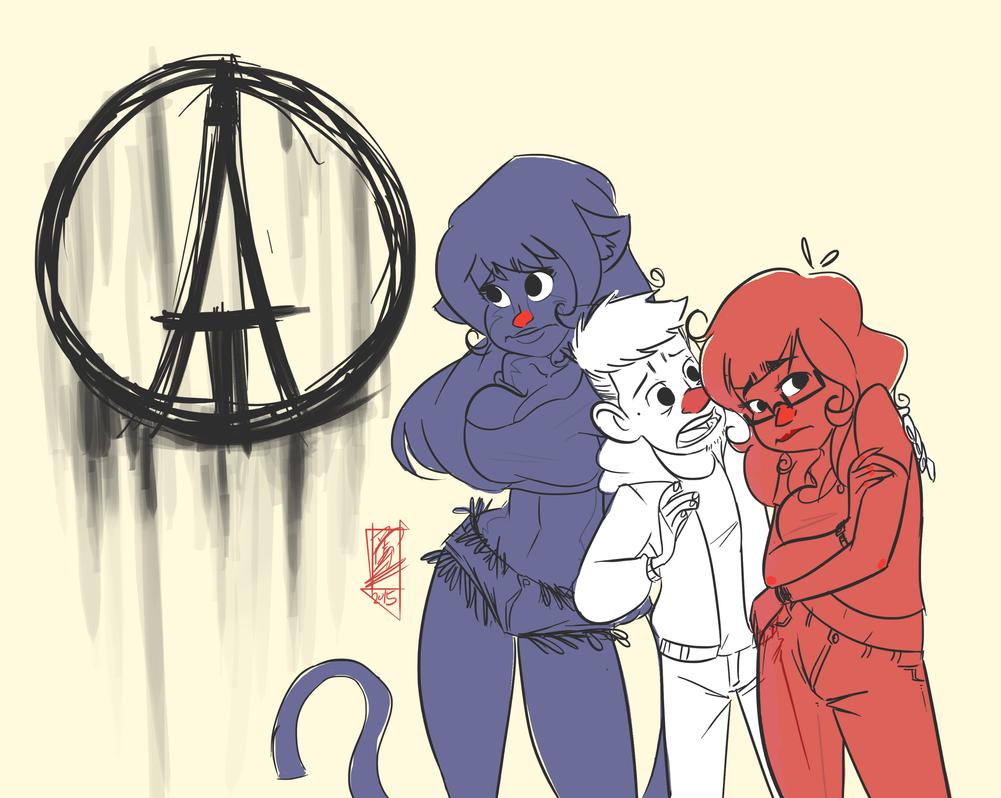 Pray for Paris by iJayDeath