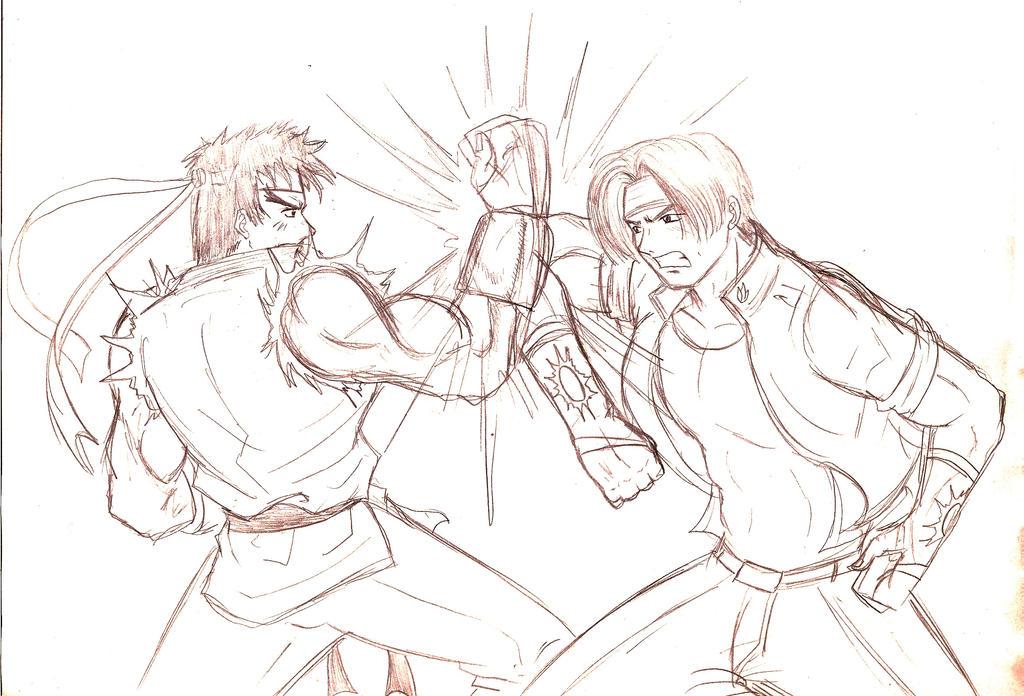Capcom vs SNK by Patricin