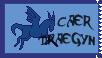 Caer Draegyn Stamp by DragonPud