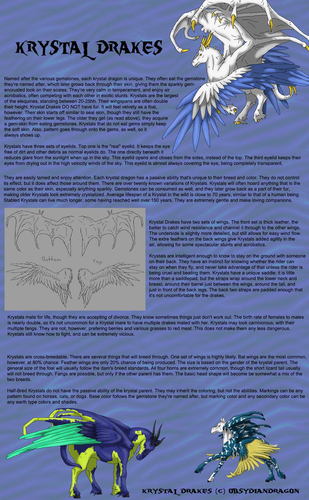 Krystal Drake Breedsheet by DragonPud
