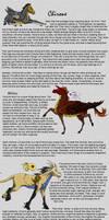 Chirone Breedsheet by DragonPud