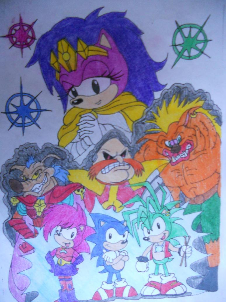 The Sonic Underground by BellaaHedgehog