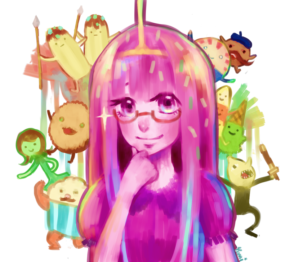 Princess Bubblegum by monorhapsody