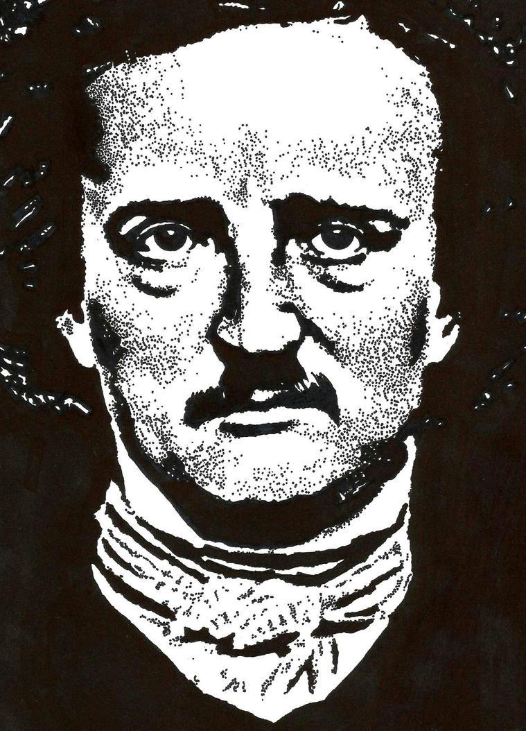 Edgar Allan Poe by Fresno77