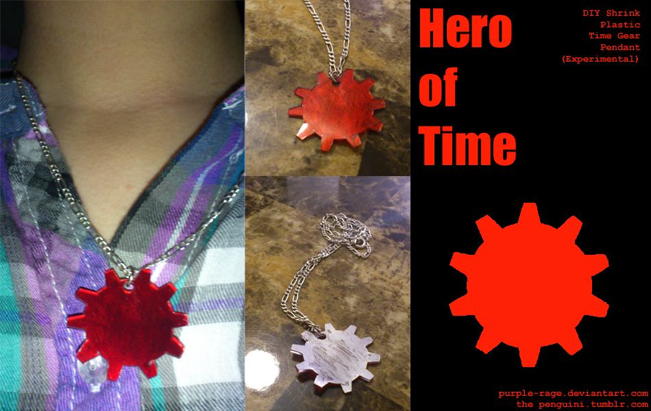 Hero of Time Gear Pendant by Purple-Rage