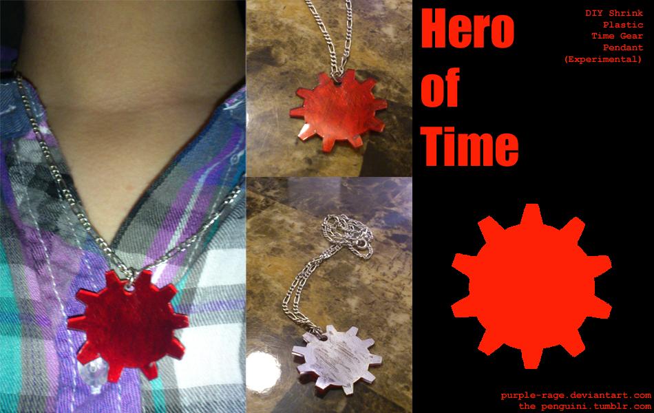 Hero of Time Gear Pendant by Purple-Rage