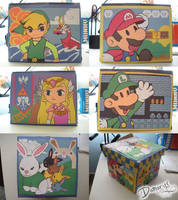 Zelda + Mario Box by LnknPrk7Snoopy