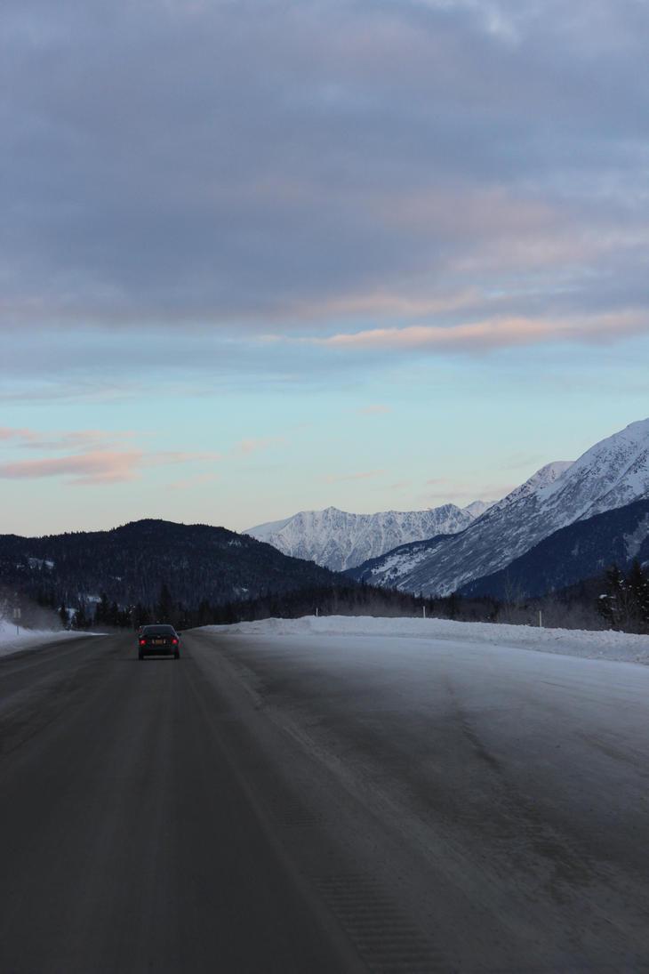 Alaska Mountains 16 by xdancingintherain