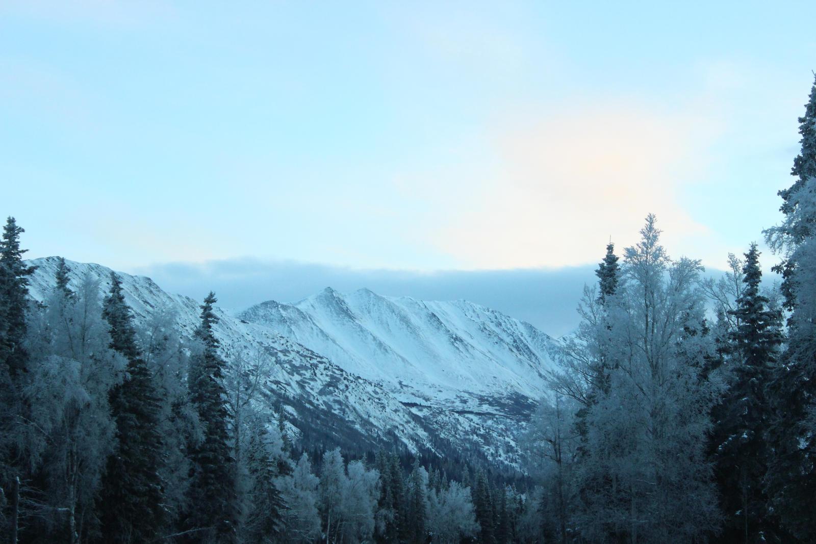 Alaska Mountains 28 by xdancingintherain