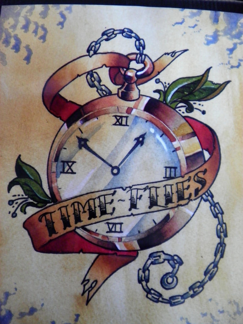 Pocket watch watercolor by Agreus on DeviantArt