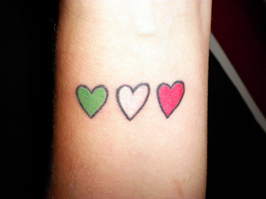 Italian Heart tattoo by Agreus