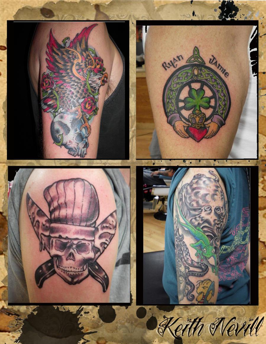 Tattoo Layout 13 By Agreus On Deviantart