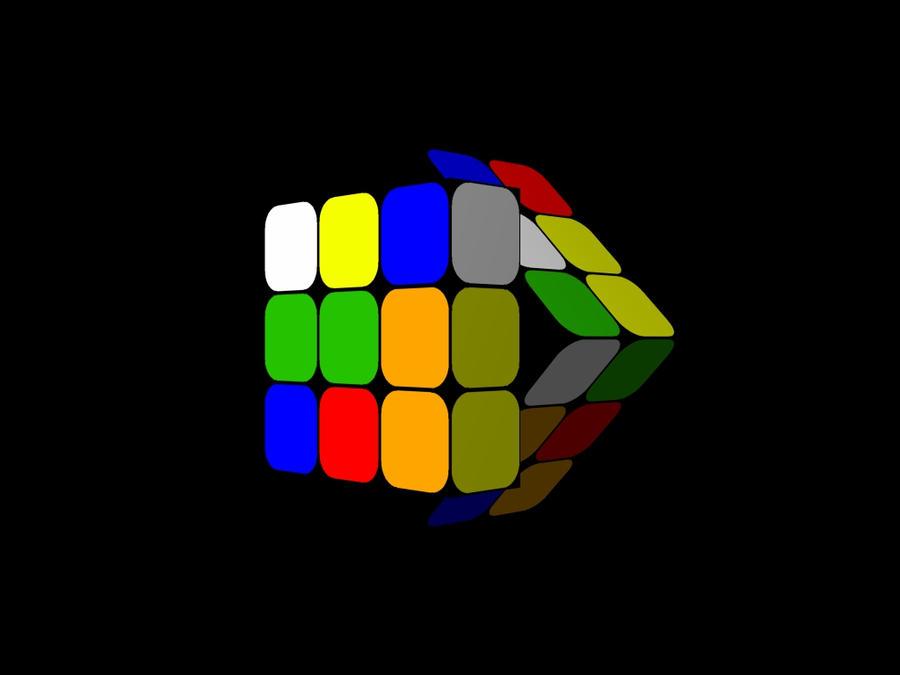 rubik s cube wallpaper 02 by he4rty on deviantart