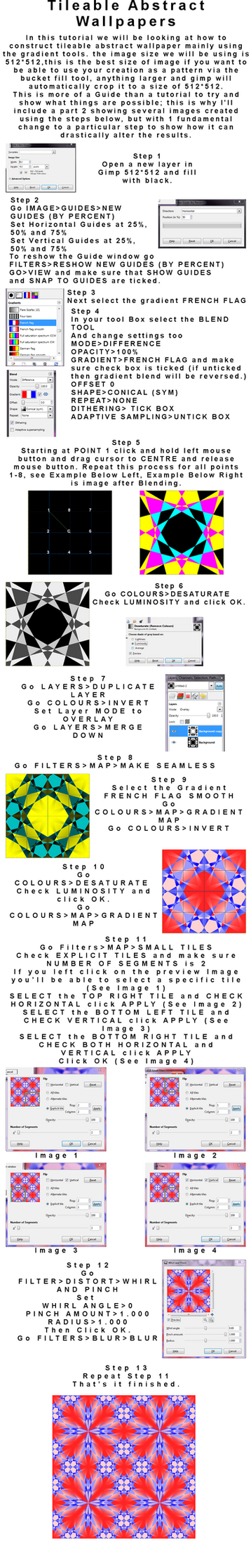 Abstract Gradient Tutorial Pt 1 by he4rty