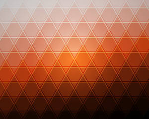 Tiled Triangles Ubuntu Orange
