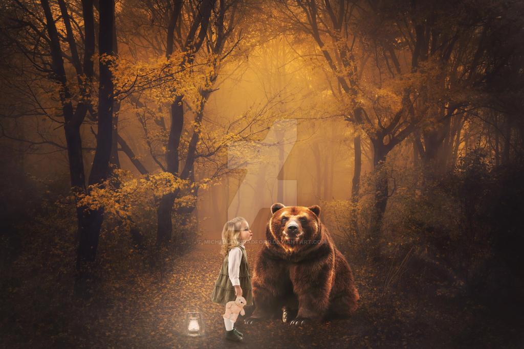 Kiss Kiss Mr. Bear by MichellewBradford