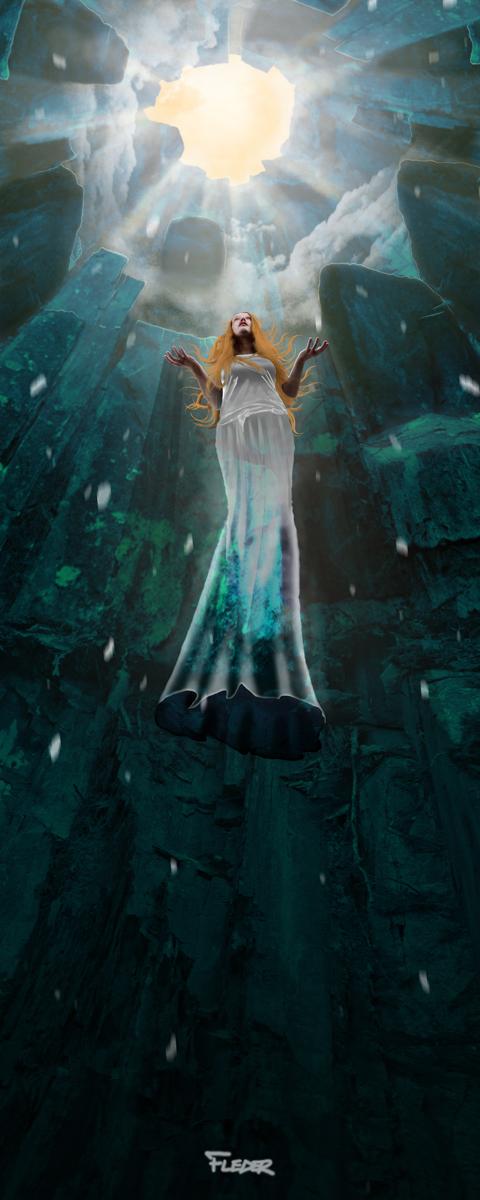 Andromeda dreaming of Capricorn by fledervlad