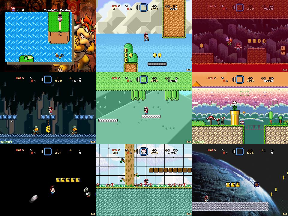 Super Mario Bros Doomsday Screenshots (Jul 2014) by BuzzNBen