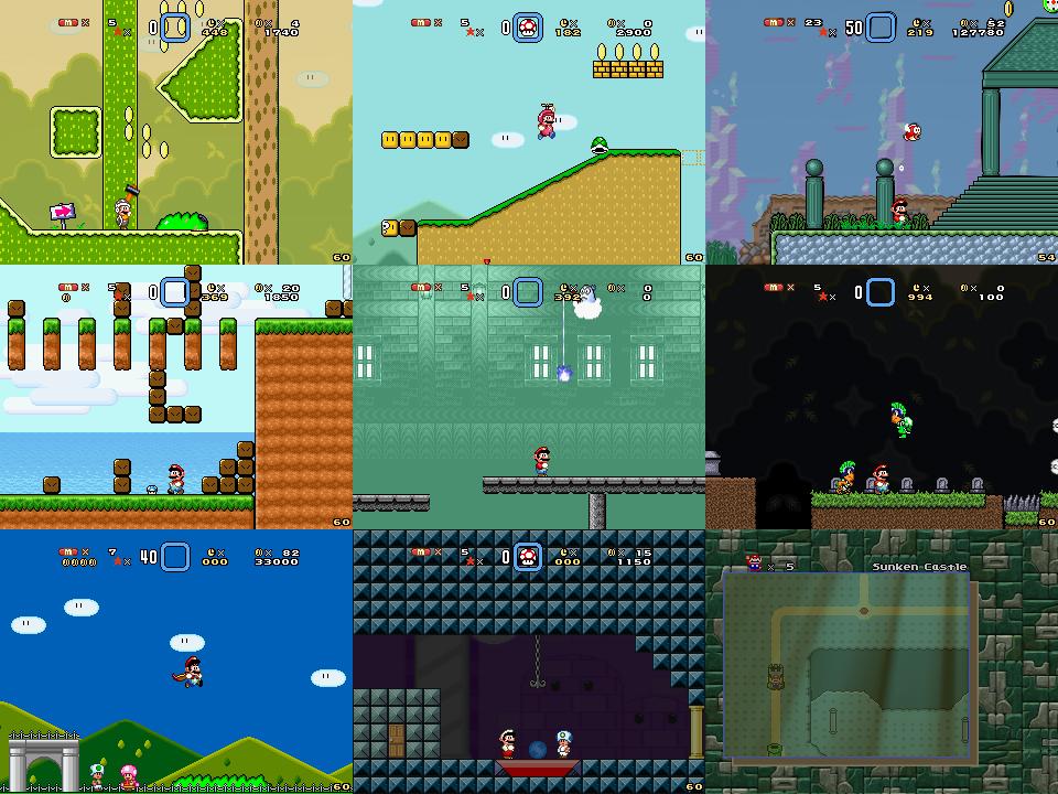 Super Mario Bros Doomsday Screenshots (Aug 2014) by BuzzNBen