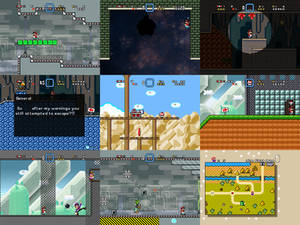 Super Mario Bros Doomsday Screenshots (Aug 2016)