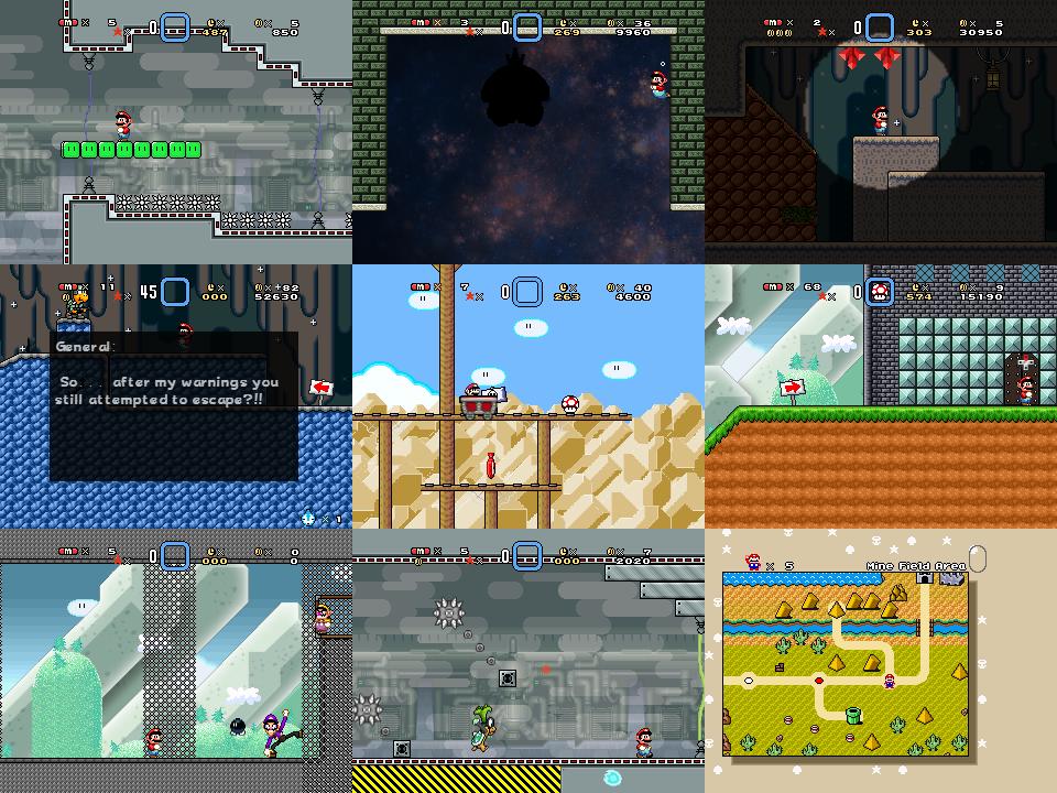 Super Mario Bros Doomsday Screenshots (Aug 2016) by BuzzNBen