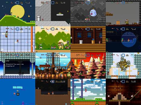Super Mario Bros Doomsday Final Screenshots (2017)