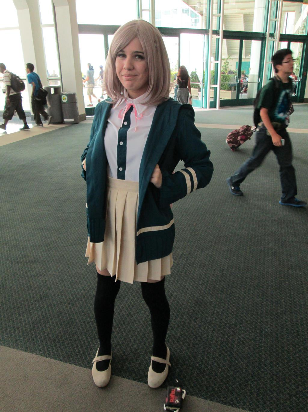 chiaki dangan ronpa cosplay - photo #25