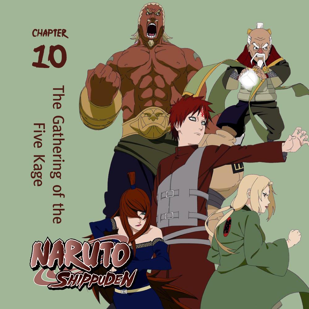 Naruto Shippuden Season 10 iTunes Square Artwork by o-banheiro on