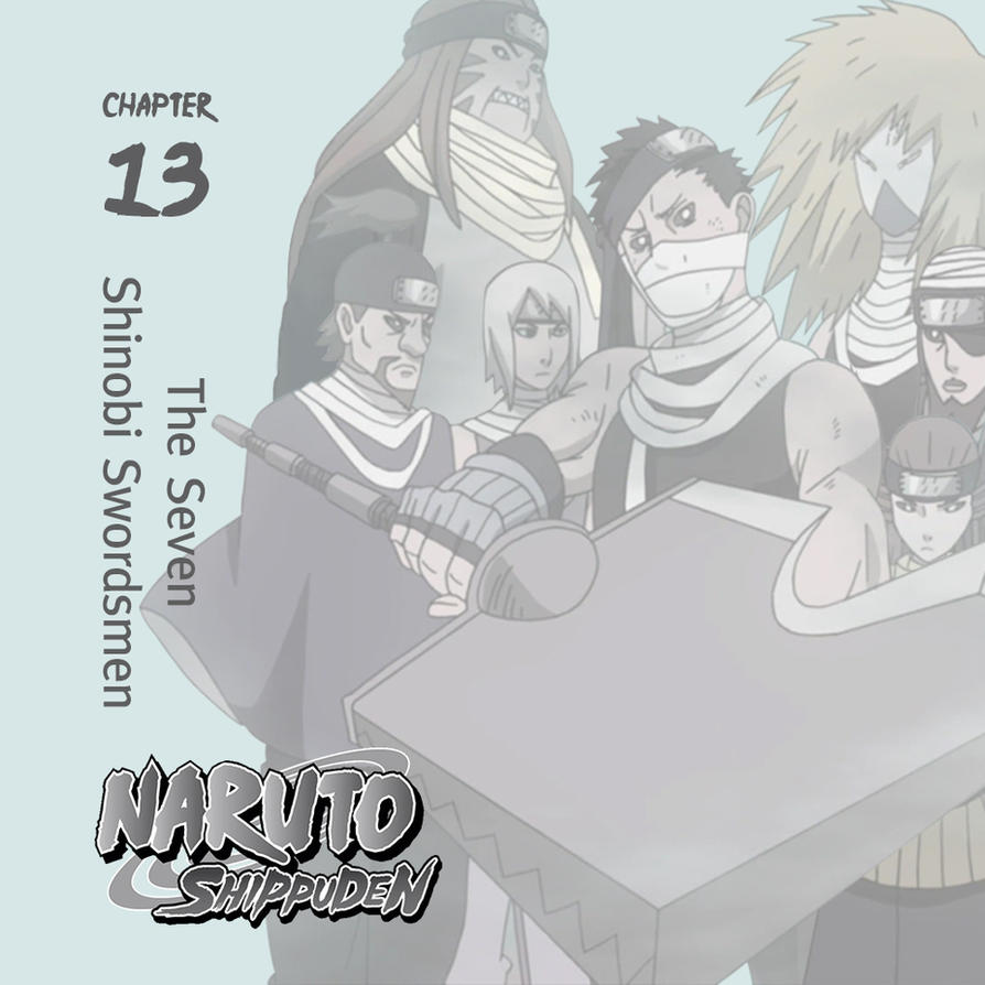 Naruto Shippuden Season 13 ITunes Square Artwork By O