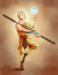 A is for Aang by furious-teapot