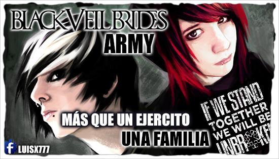black veil brides ARMY by luisx777