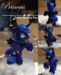 Princess Luna Custom Blind Bag Pony by MySugarCat