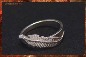 Feather ring by StephaniePride