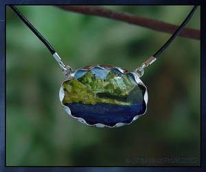 Landscape Necklace by StephaniePride