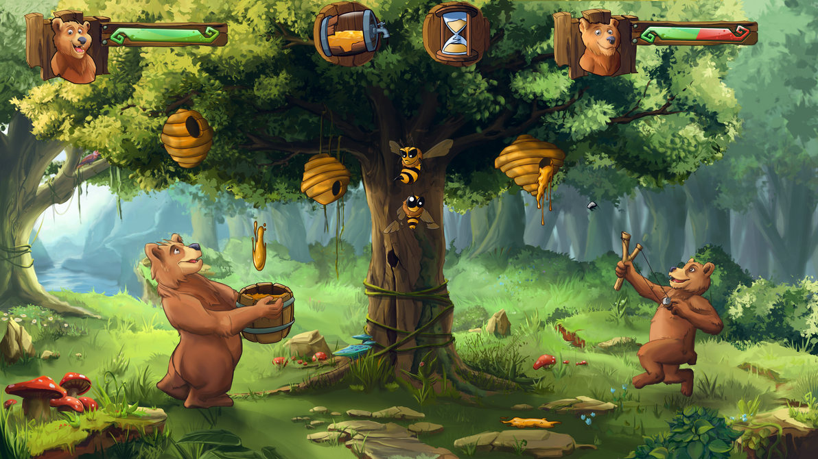 In Game Bear  Project by minu5natul